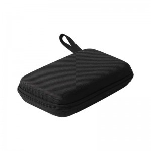 Factory wholesale Waterproof Portable Cosmetic Bag - EVA Shockproof Travel Carrying Storage Case Bag for powerbank – H&X